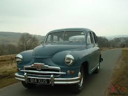 vintage cars 1950s 1952 standard vanguard phase 1 what a rarity and what an