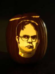 Meme Pumpkin Carving - brilliant man turns the tables has squirrels carve a pumpkin for