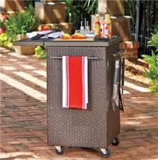outdoor grill prep table outdoor prep station for grilling bbq trends4us com