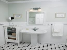 Retro Bathroom Flooring Retro Black White Bathroom Good Ceramic Tile Flooring On White
