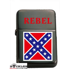 Confederate Flag Wallet Confederate Cigarette Lighter Rebel Flag Zippo Style