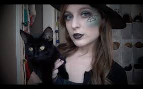 Cat Whiskers For Halloween Makeup by Sassy Witch Makeup And Hair Youtube