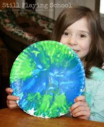 no mess painting in a bag earth craft earth day crafts and bags