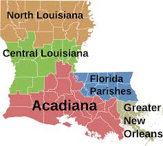 Map Of New Orleans Louisiana Map Of Louisiana Reference Map Of Louisiana Usa Nations Online