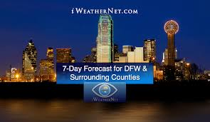 Dallas Radar Map by Dfw Weather Dallas U0026 Fort Worth U2014 Iweathernet