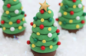 christmas tree cake fondant designs u2013 happy holidays
