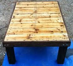 how to make a coffee table out of pallets how to make a coffee table home design taller from crates cheap mamak