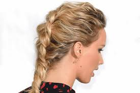 show pix of braid reverse french braid hair how to tutorial tips from jennifer