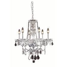 Elegant Lighting Chandelier Royal Cut Crystal Chandelier Bellacor