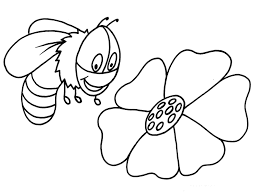 flying bumblebee coloring page ah coloring pages 19483