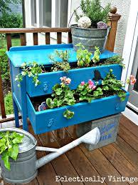 remodelaholic 10 creative container garden ideas