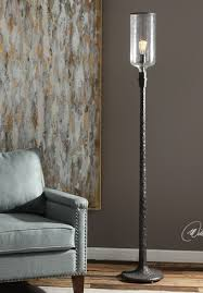 Uttermost Floor Lamps Uttermost Hadley Old Industrial Floor Lamp 28156 1