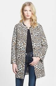 Womens Car Coat Maison Scotch Leopard Print Car Coat Where To Buy U0026 How To Wear