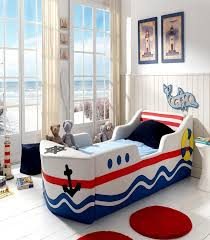 Blue And Red Boys Bedroom Bedroom Wonderful White Blue Wood Glass Modern Design Kids Rooms