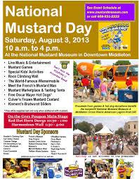 boetje s mustard 2013 national mustard day national mustard museum