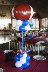 football centerpieces 161 best balloon centerpieces images on balloon room ideas