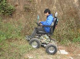 Power Chair With Tracks Vicking 4x4 All Terrain Power Wheelchair Living Spinal