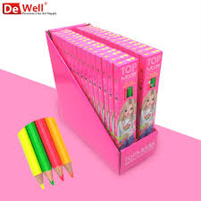 colored writing paper compare prices on neon colored pencils online shopping buy low kawaii neon colour pencil highlighter fluorescent marker pencil drawing colour pencils for school coloring drawing art