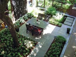 outdoor courtyard wasted outdoor space given new life james bertrand hgtv
