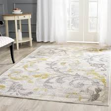 Outdoor Throw Rugs Willa Arlo Interiors Maritza Floral Ivory Light Grey Indoor