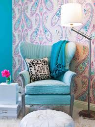 Wallpaper For Walls Teal And Pink Lighting For Kids U0027 Rooms Hgtv