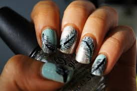 real feather nail art tutorial youtube 50 latest feather nail art