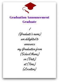 grad announcement wording graduation invitation wording orionjurinform