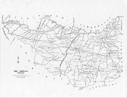 Virginia County Maps by Prince Edward County Vagenweb