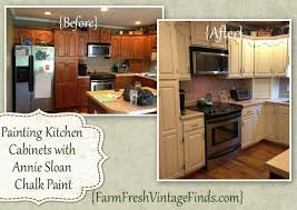 Painting Kitchen Cabinets With Chalk Paint Painted Cabinet Tutorials Farm Fresh Vintage Finds