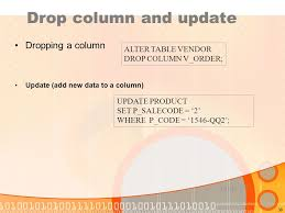 Alter Table Drop Column Sql U2013 Structured Query Language Ppt Video Online Download