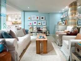 Basement Family Room Color Schemes With Wall Shelves Antiqueslcom - Color schemes for family room