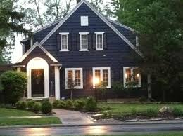 blue house with brown trim found on s5 photobucket com
