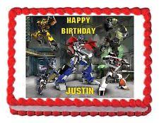 transformers cake decorations transformer cake decoration ebay