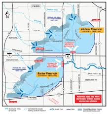 hcfcd flooding impacts in connection with the reservoirs