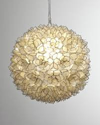 Mother Of Pearl Pendant Light by Robles Heritage Capiz Shell Pendant Light Zentthang