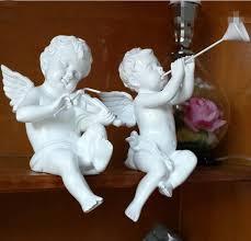 ornaments decorations cupid figurine vintage home