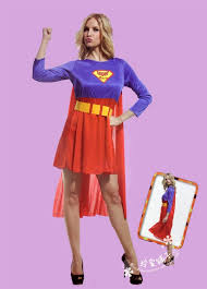 Halloween Costumes Supergirl Halloween Costume Cosplay Costume Masquerade Costume