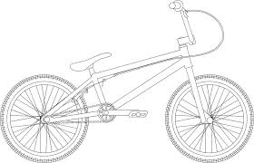 bmx colouring pages kids coloring europe travel guides com