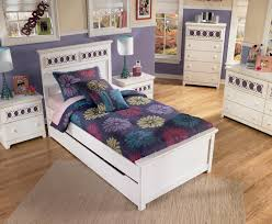 Twin Bedroom Set With Storage Twin Platform Bed With Trundle Storage Box U0026 Customizable Color