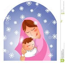 nativity mary and baby jesus stock photo image 11688780