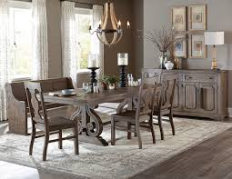 Dining Room Tables Set Homelegance 5438 96 Oak Wood Dining Table With 6 Side Chairs