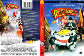 rabbit dvd who framed roger rabbit dvd scanned covers 29613who framed