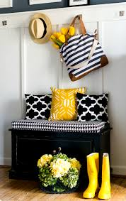 spring decor ideas in navy and yellow navy spring and decorating