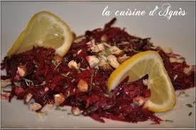 cuisiner des betteraves rouges salade de betterave crue la cuisine d agnèsla cuisine d agnès