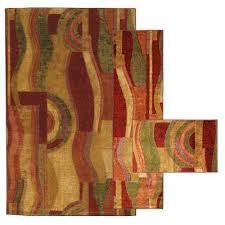 Modern Orange Rugs Mohawk Home Area Rugs Rugs The Home Depot