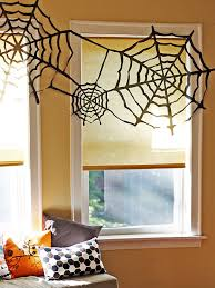 cobweb spray for halloween 10 diy spider crafts for halloween hgtv u0027s decorating u0026 design