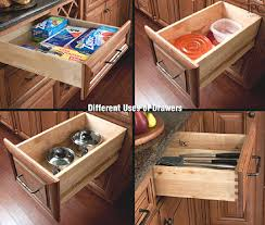 drawers in kitchen cabinets kitchen cabinet drawers get the best and make them work for you