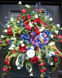 Fourth Of July Door Decorations Patriotic Wreath Elegant 4th Of July Wreaths Red By Luxewreaths