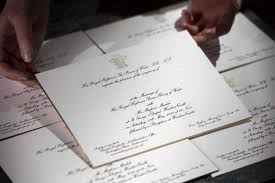 wedding invitations japan sealed and delivered 600 royal wedding invites dispatched the