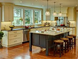 interior great kitchen decoration with various farmhouse kitchen